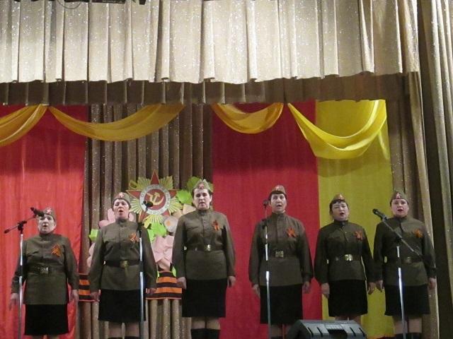 9 мая 2018 года состоялась праздничная программа  «Нам эти годы забывать нельзя». Со сцены звучали слова благодарности ветеранам – участникам войны и труженикам тыла, кто защищал Родину от врага, ковал оружие победы на заводах, растил хлеб.  Затем состоялся концертно–развлекательный блок «Девичий батальон». В концертной программе приняли участие вокальные ансамбли «Шахтерский огонек», «Тан-Йолдызы», «Журавушка», хореографические студии «Младешенька», «Мозаика» и «Первоцвет».