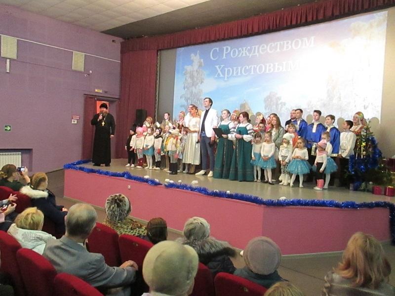 7 января впервые в Центре культуры и кино «Родина» состоялся мюзикл-сказка «Святое Рождество».