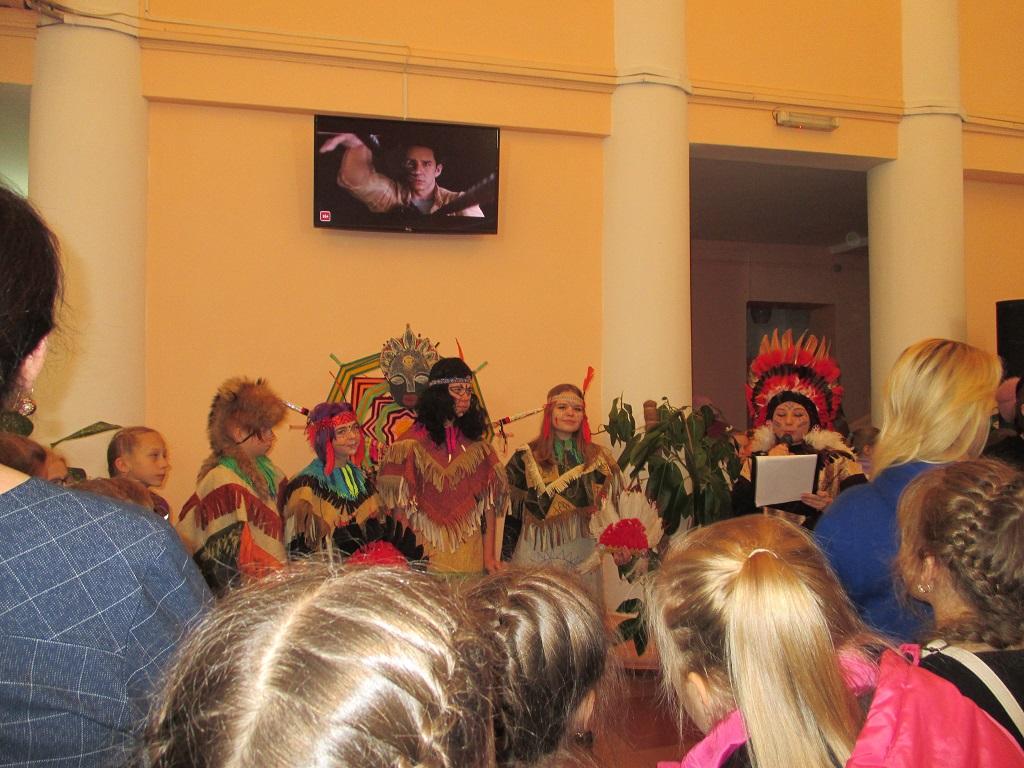 в рамках Областного фестиваля «ЭтноКино» состоялось киномероприятие, посвященное культуре древних индейцев