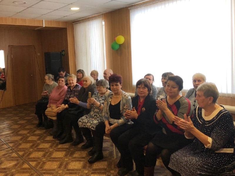 в рамках акции «Белая трость» состоялся концерт для членов общества слепых