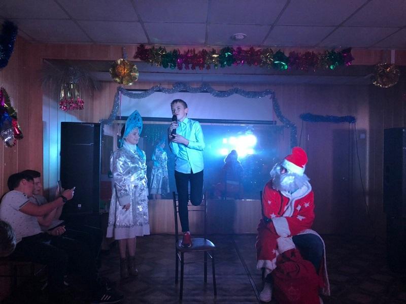 игровая танцевальная программа «Новогоднее диско пати 2020»