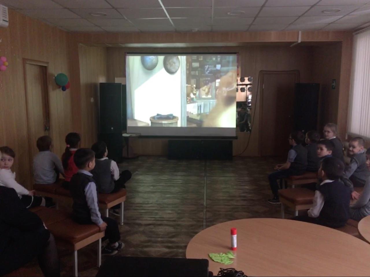 кинопрограмма «Спортания» для учеников 1«Б» класса школы №8, посвященная здоровому образу жизни