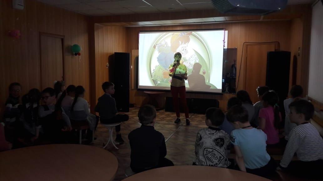 кинопрограмма «Мы - друзья природы» для учеников 1«А» класса школы №8, посвященная экологии