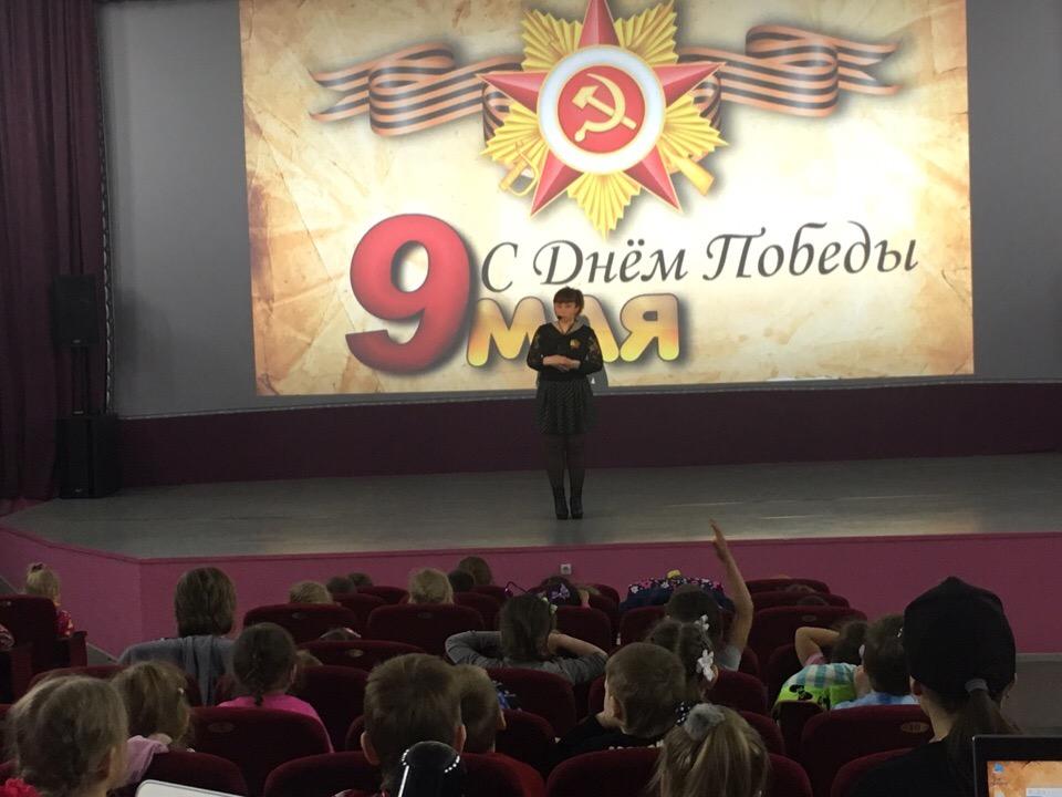 Юному поколению через просмотр мультфильмов были представлены фрагменты исторических событий времен Великой Отечественной войны.