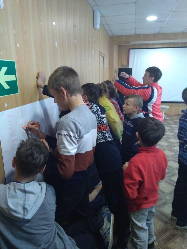 спортивная игровая программа «Весёлые затеи» для воспитанников Центра социальной помощи семье и детям