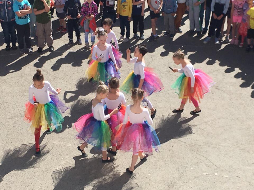 отчетный концерт детской хореографической студии «Первоцвет» (руководитель Луценко И.С. ЦКиК «Родина»)