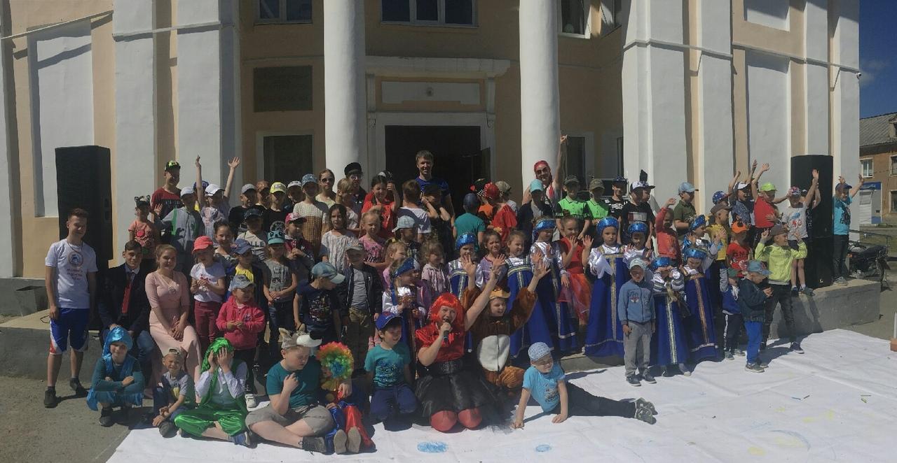 состоялась праздничная игровая программа «Волшебный мир детства», посвященная Дню защиты детей