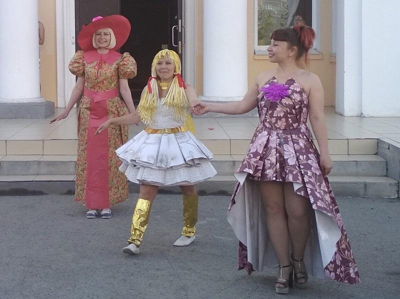 первый районный фестиваль нетрадиционной моды «В моде оригинальность!»,