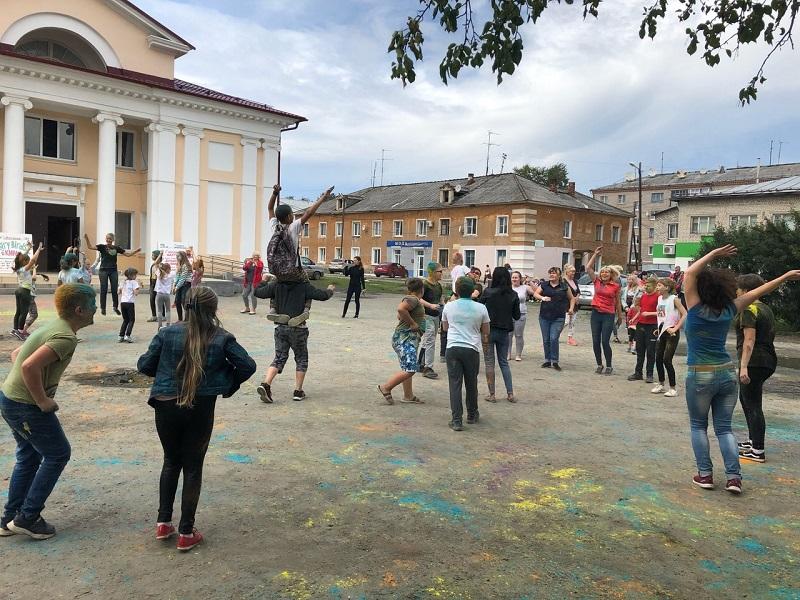 фестиваль красок «Холли»