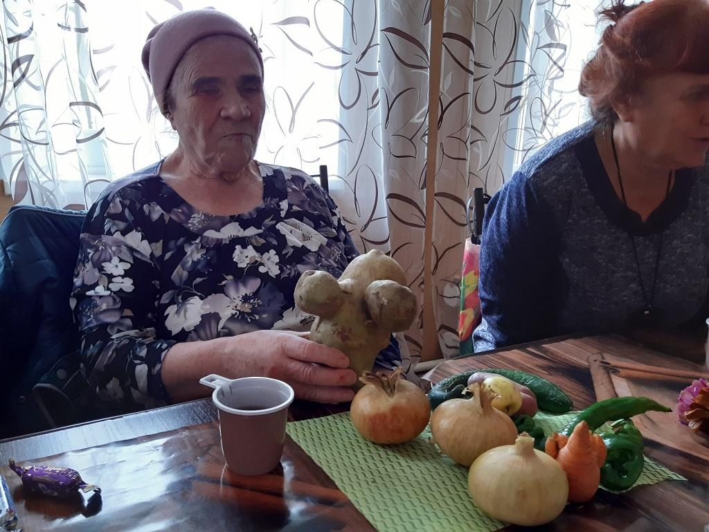 программа «Дары осени» для местной организации Всероссийского общества слепых