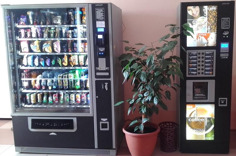 Снековый и кофейный автоматы