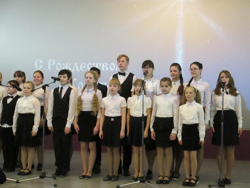 7 января состоялась праздничная концертная программа «Под сиянием Рождественской звезды», посвященная светлому празднику Рождества Христова.