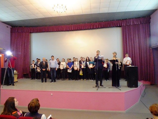 15 апреля в Центре культуры и кино Родина состоялся конкурс Талантливые дети - гордость семьи!