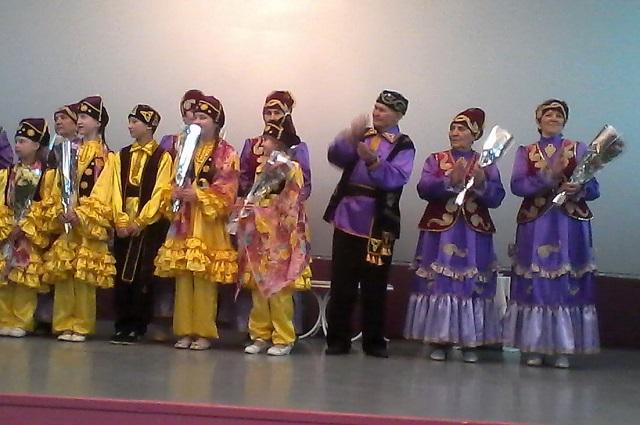 Концертно–развлекательная программа на татарском языке, посвященная Международному женскому дню